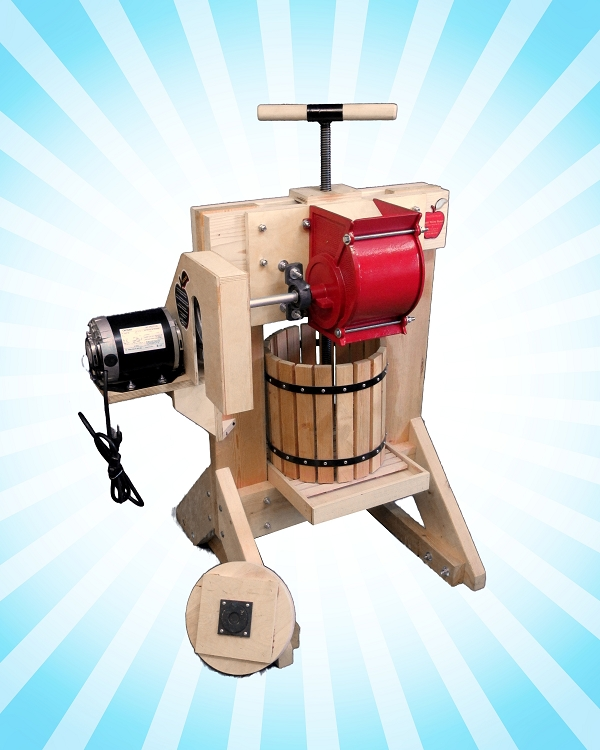 Pioneer Cider Press & Grinder MEGA KIT